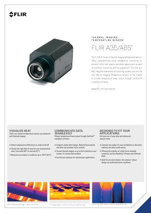 Kamera termowizyjna FLIR A35/A65