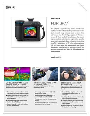 Kamera termowizyjna FLIR GF77 - specyfikacja